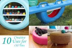 10 Creative Uses For Old Tires
