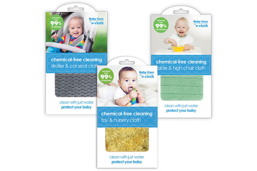 e-cloth Chemical Free Baby Care Cleaning Cloths