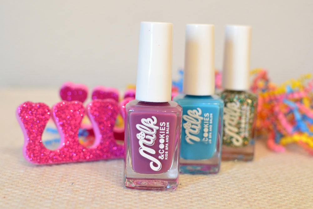 Milk and Cookies Splat Nail Polish set - Mommy Scene