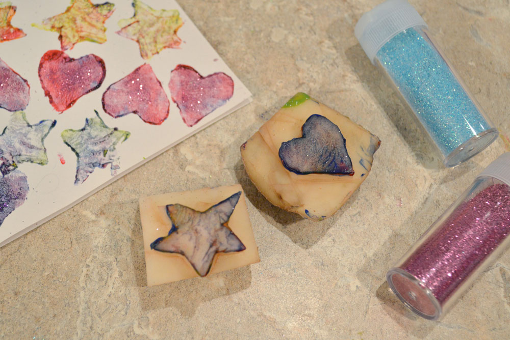 Make your own potato stamps - Mommy Scene
