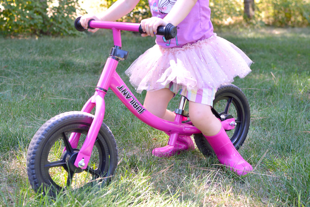 Toddlers can learn how to ride a bike with Jubilant Balance Bikes - Mommy Scene