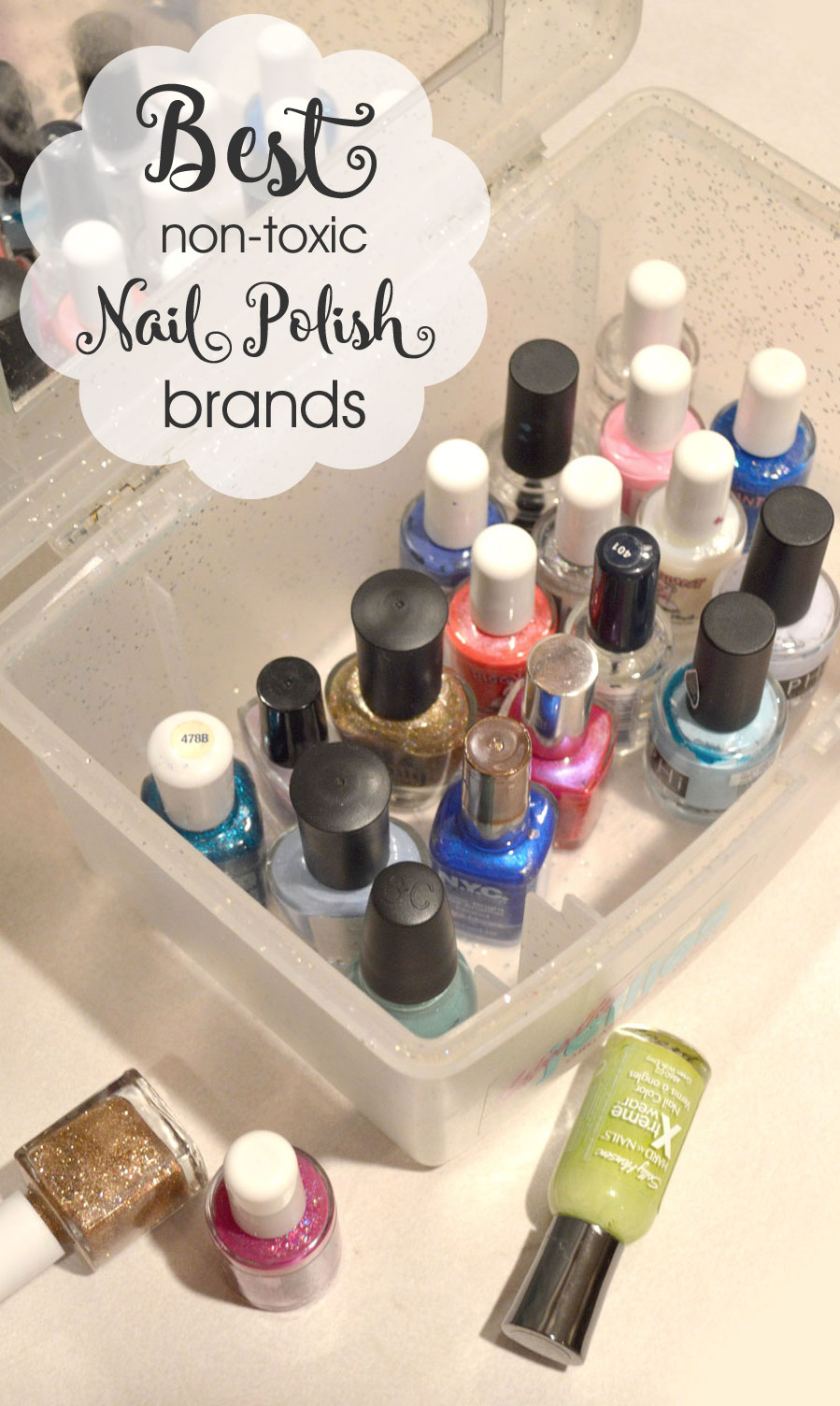 Best Non-Toxic nail polish brands - Mommy Scene