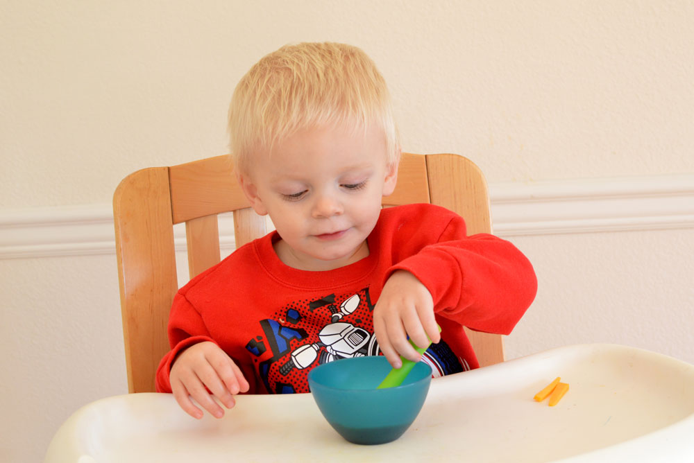 Olababy OlaSprout Silicone Baby Training Spoon - Mommy Scene